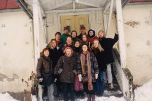 Jäänsärkijöiden perustajat maaliskuussa 1997